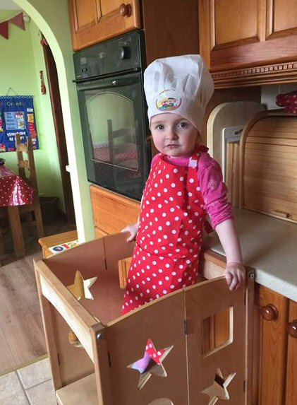 Raising Children To New Heights With The Guidecraft Kitchen Helper