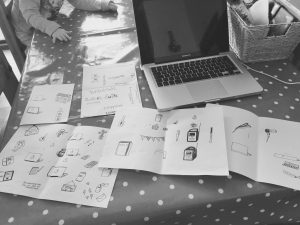 A Day Of Design & Planning For Potty Palava.
