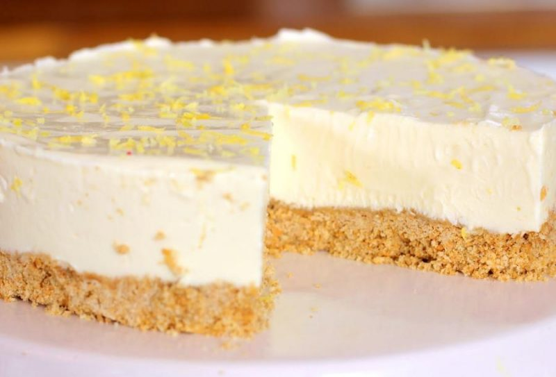 When Baking's A B*stard, Make It Easy Peasy Lemon... Cheesecake!