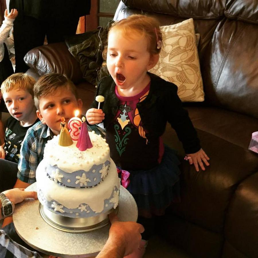 #MySundayPhoto - Blow The Birthday Candles Out