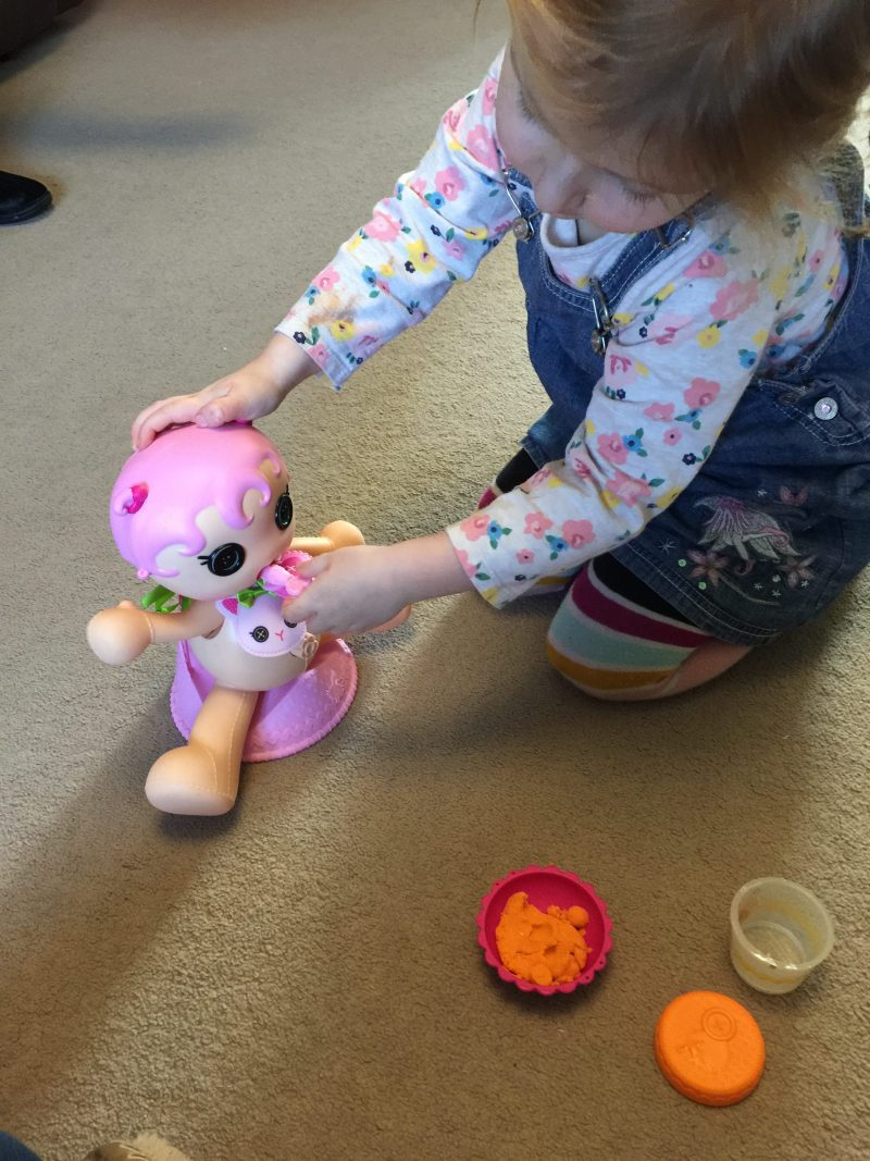 The Lalaloopsy Babies Potty Surprise Doll - The Doll That Sh**s Shapes!