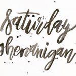 Saturday Shenanigans