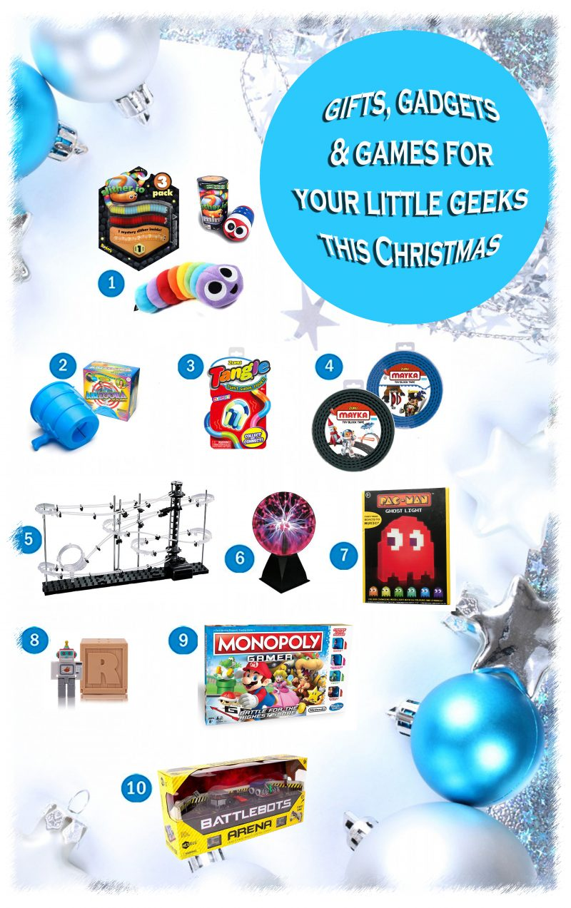 Gifts, Gadgets & Games For Your Little Geeks This Christmas