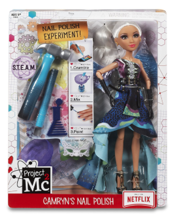 Smart Is Apparently The New Cool With The Project Mc2 Camryn Doll & Nail Polish Experiments Set