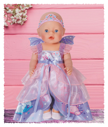 Magical & Realistic Role Play Rolled Into One With The Baby Born Wonderland Fairy Rider Doll