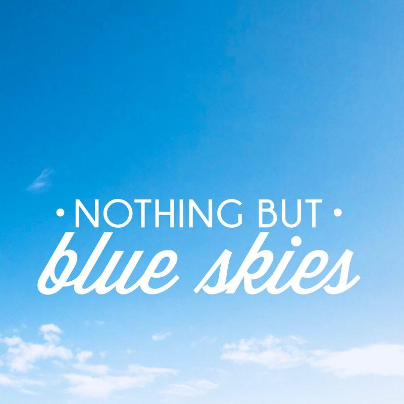 #MySundayPhoto - Blue Skies, Bluebells & Butterflies