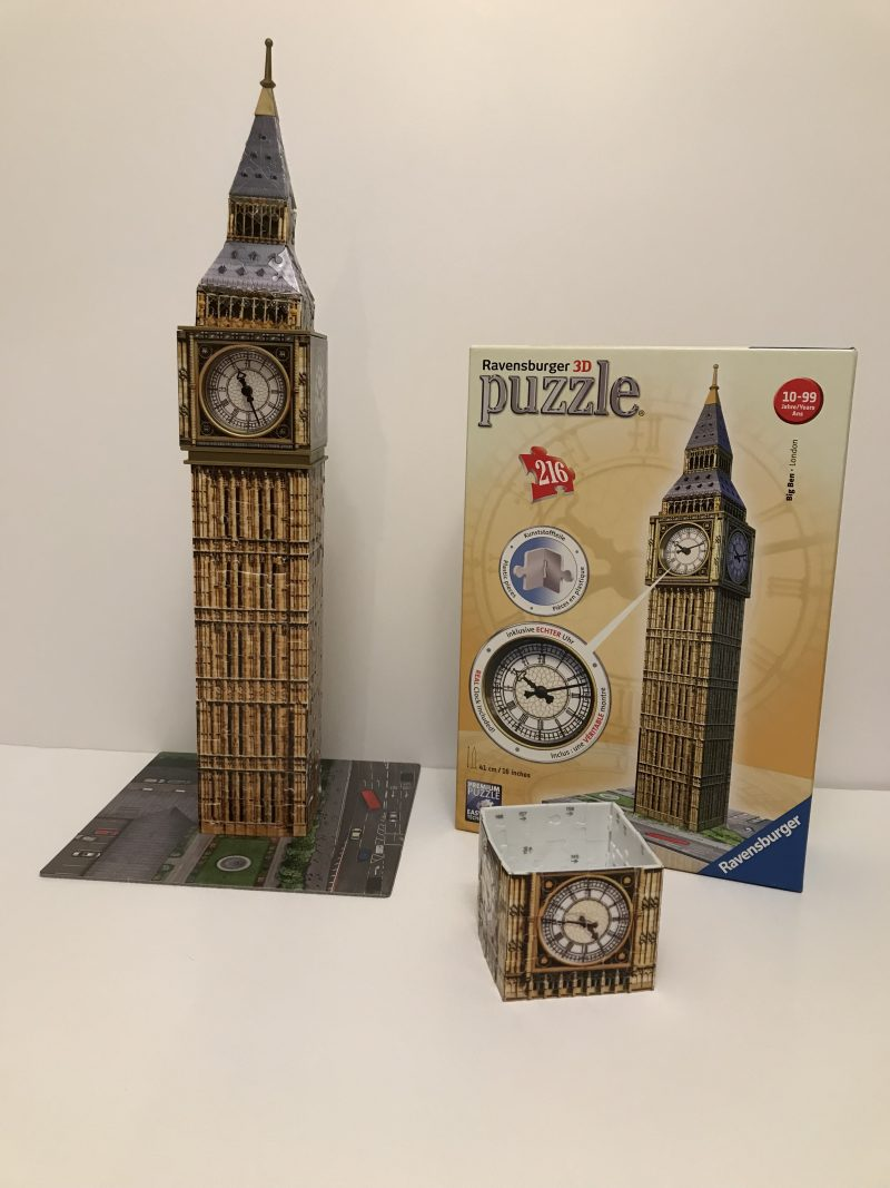 Putting The Pieces Together With The Ravensburger 3D Big Ben Jigsaw