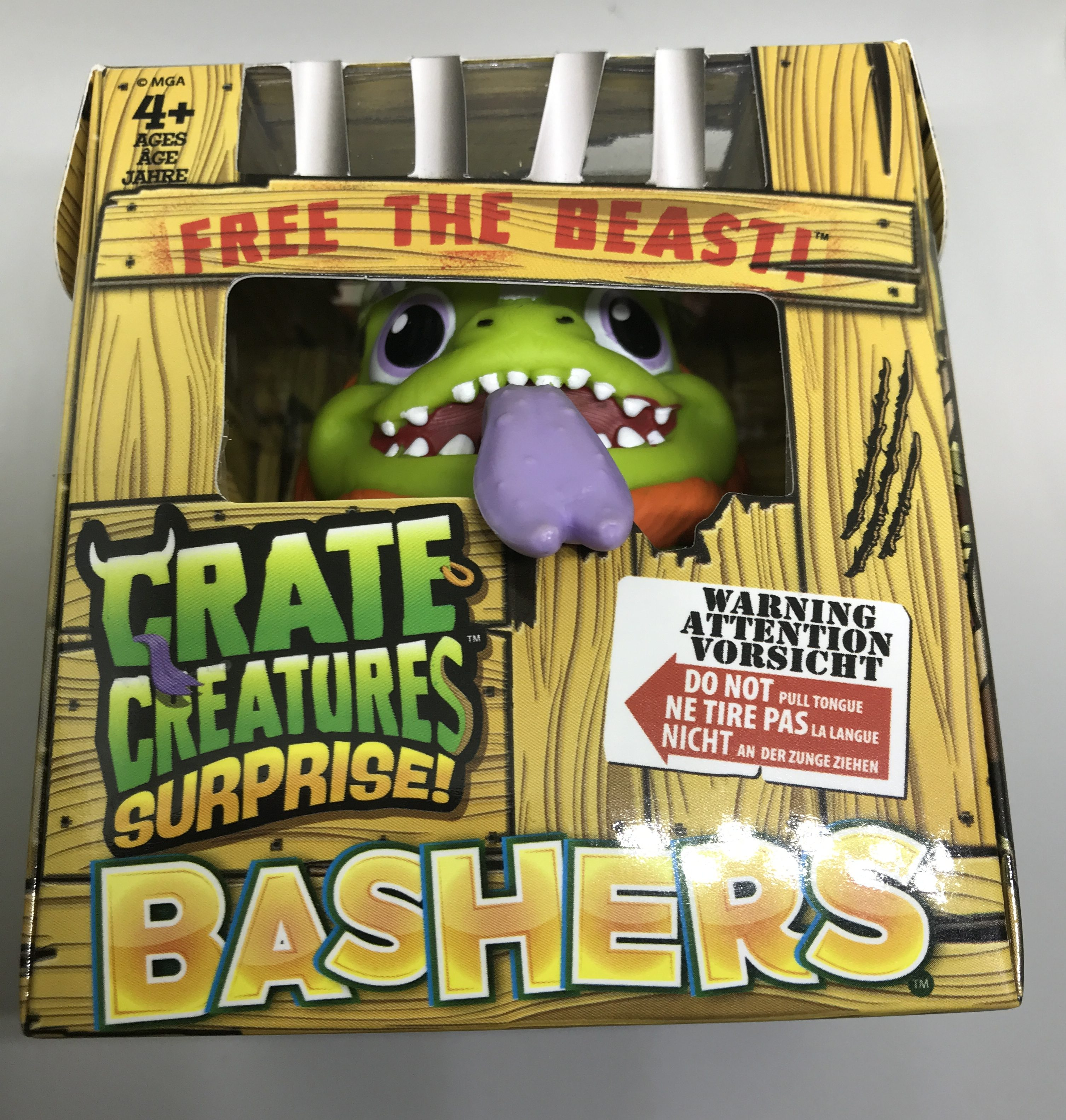 Unboxing & Reviewing Crate Creatures Surprise Bashers