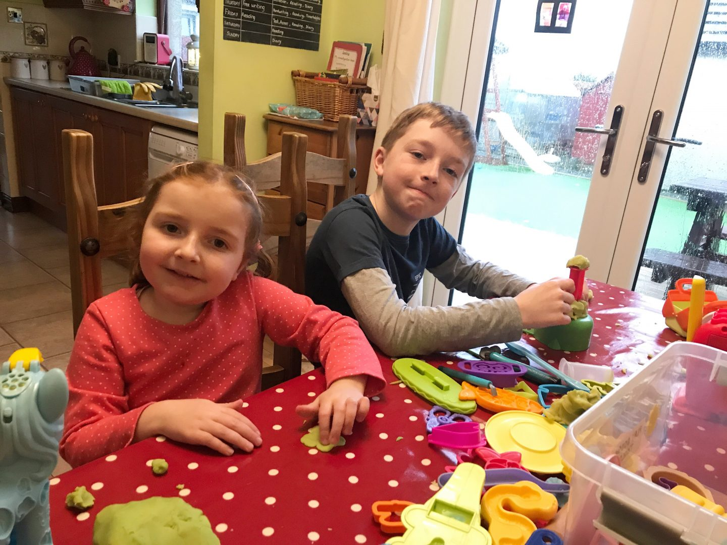 #TheOrdinaryMoments – Peace With Play-Dough