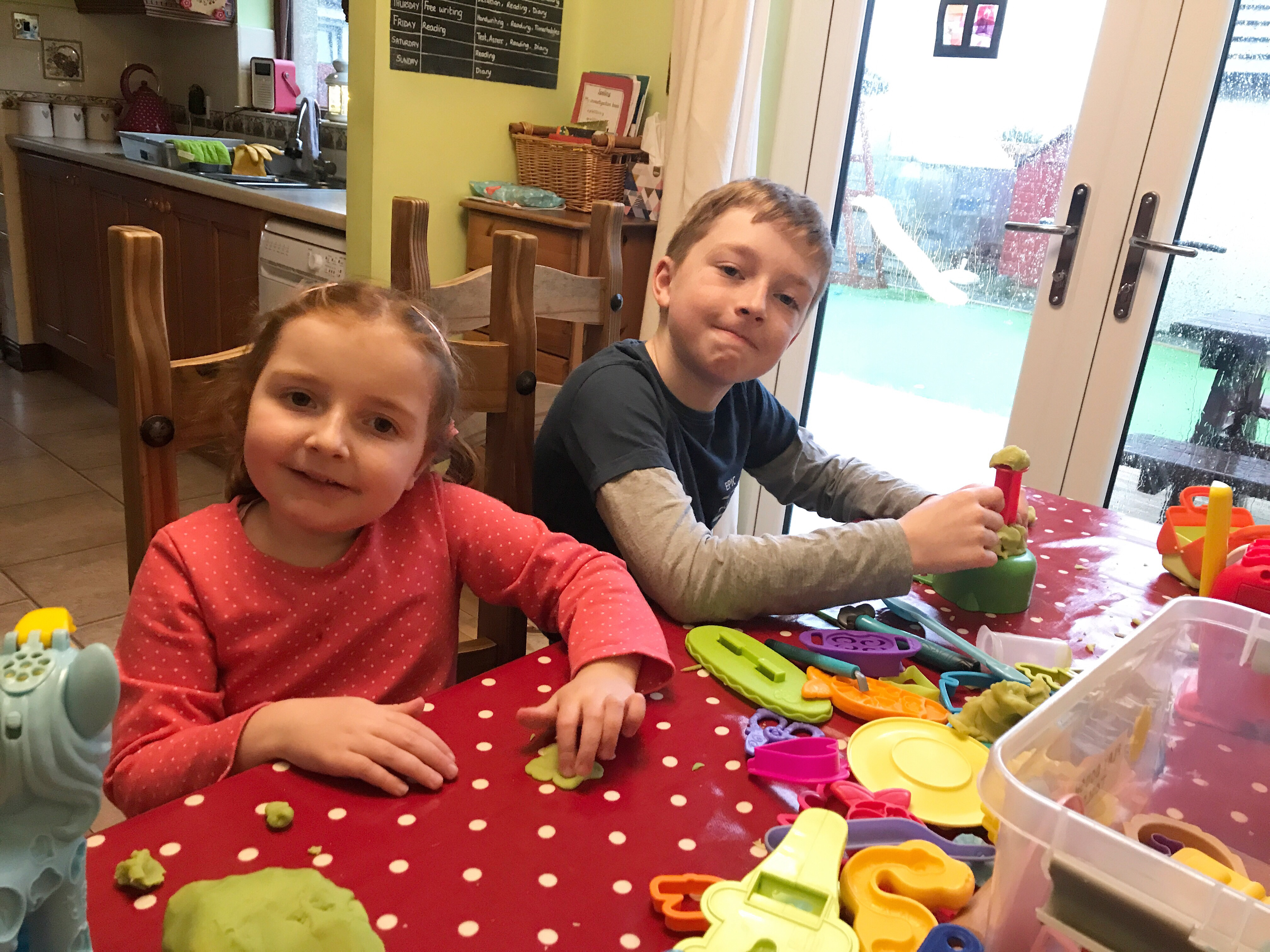 #TheOrdinaryMoments - Peace With Play-Dough