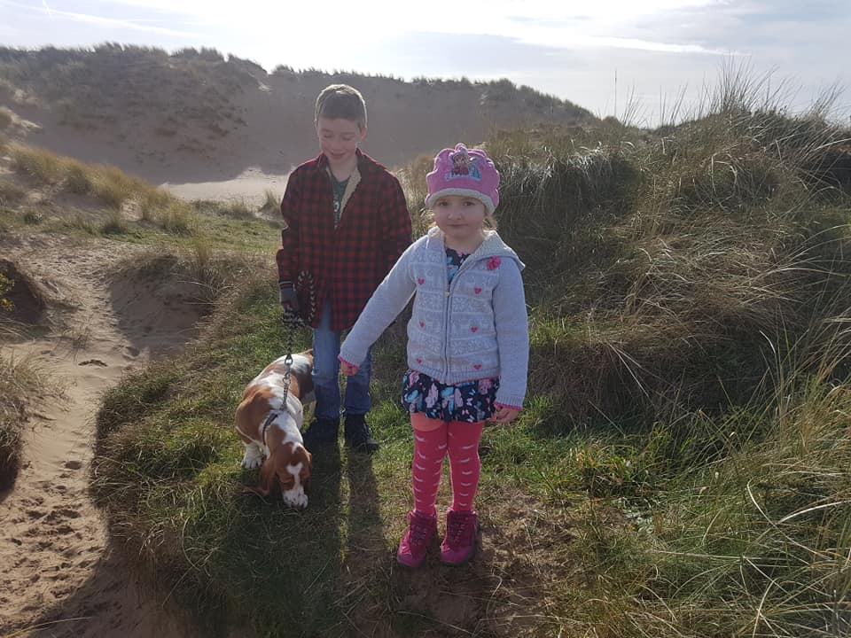 #TheOrdinaryMoments – On The Dunes With The Dog