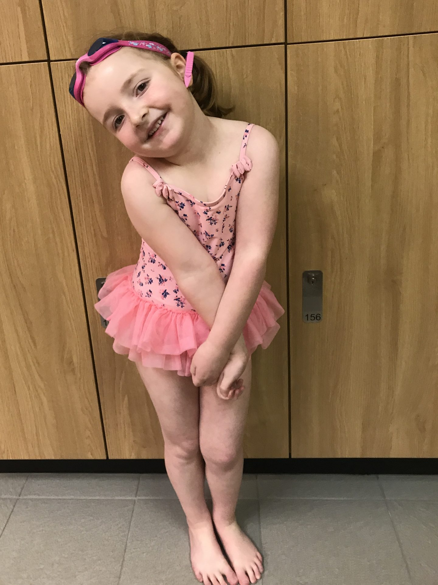 #TheOrdinaryMoments – Our Little Ladies First Swimming Lesson