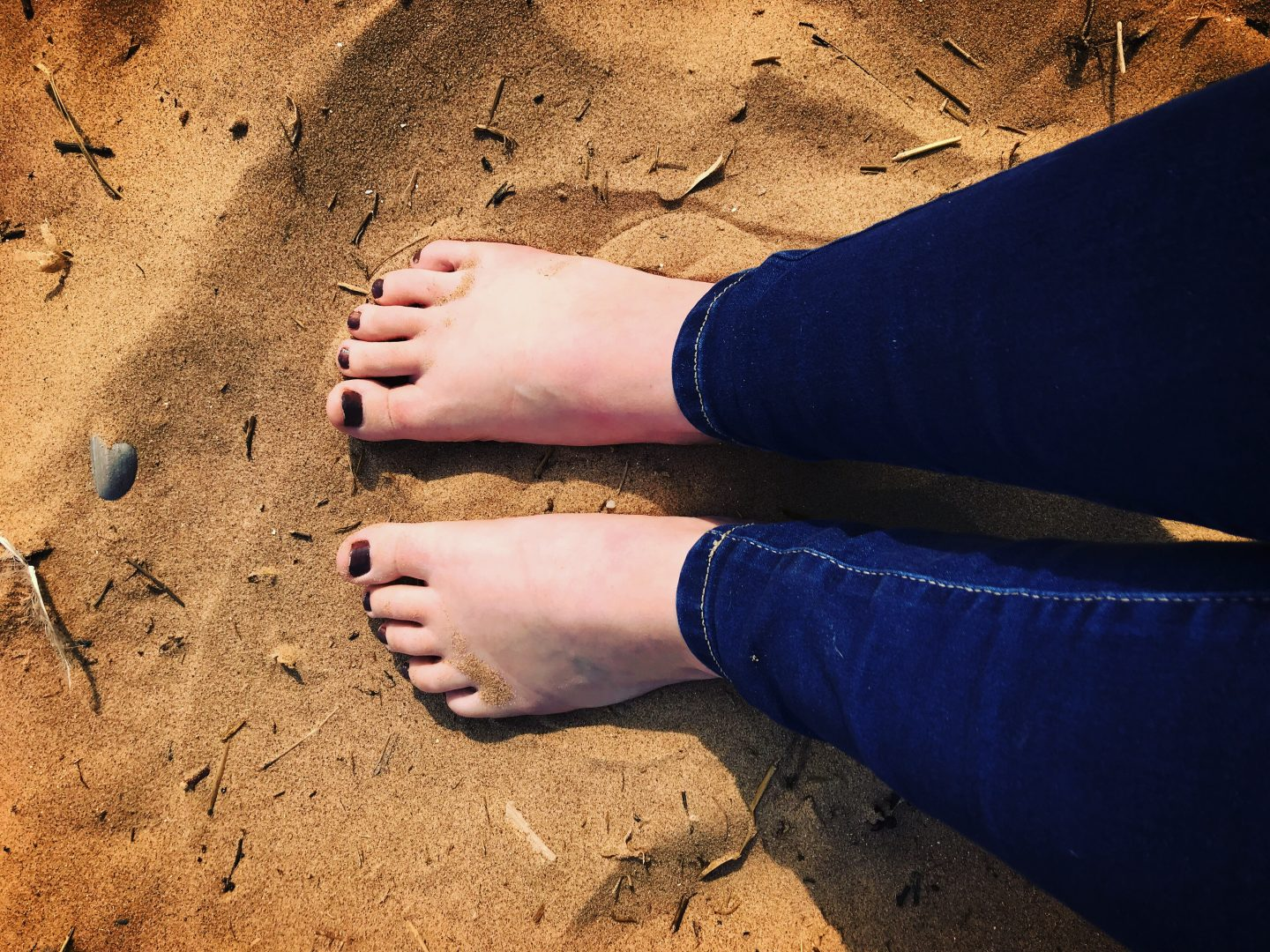 #TheOrdinaryMoments – Feel The Sand Between Your Toes