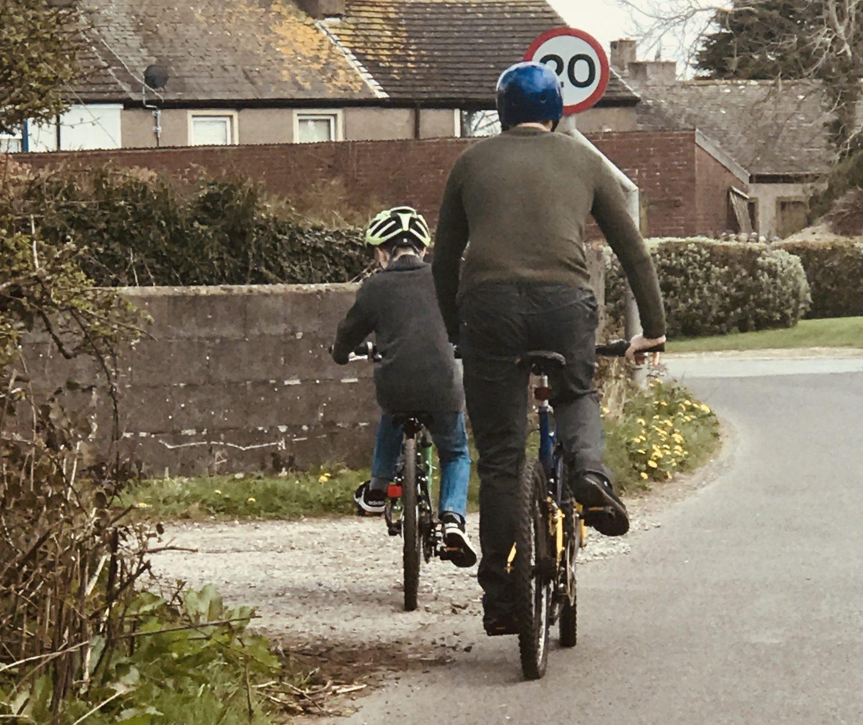 #TheOrdinaryMoments - Biking With The Boys