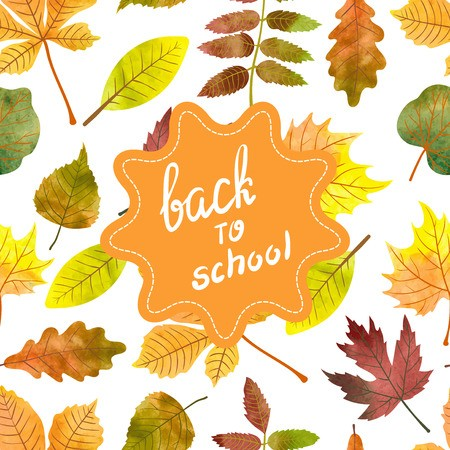 Back To School & Autumns Arrival