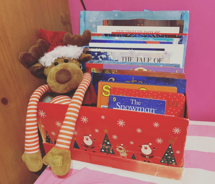 #TheOrdinaryMoments – Our Christmas Book Box