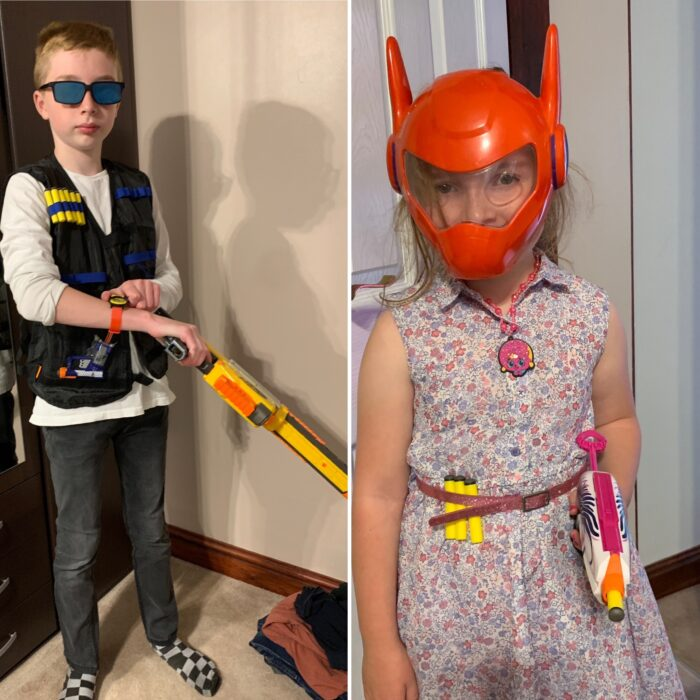 #TheOrdinaryMoments – One, Two, Three, Four – I Declare NERF WAR!