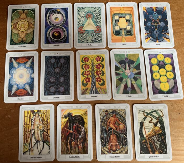 Reading & Reviewing The Thoth Tarot Book & Cards Set