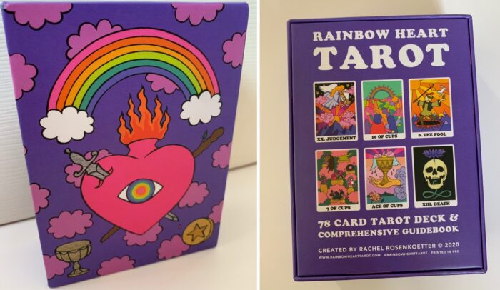 Dazzling Divination With The Rainbow Heart Tarot