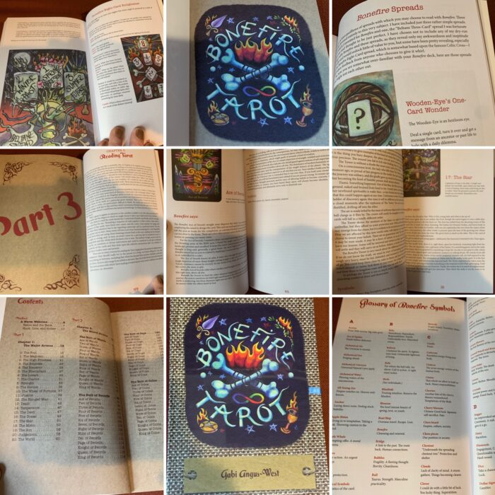 Reading & Reviewing The Bonefire Tarot