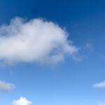 #MySundaySnapshot - Fluffy White Clouds 09/52 (2021)
