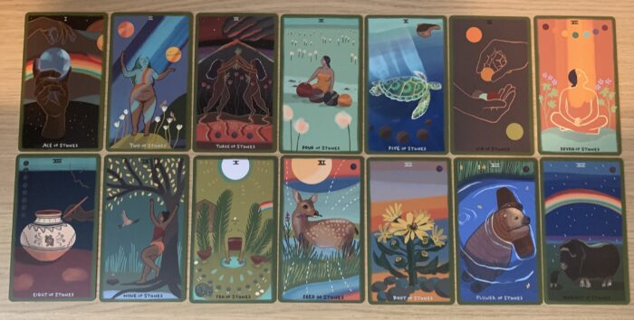 Reading & Reviewing The Gentle Tarot