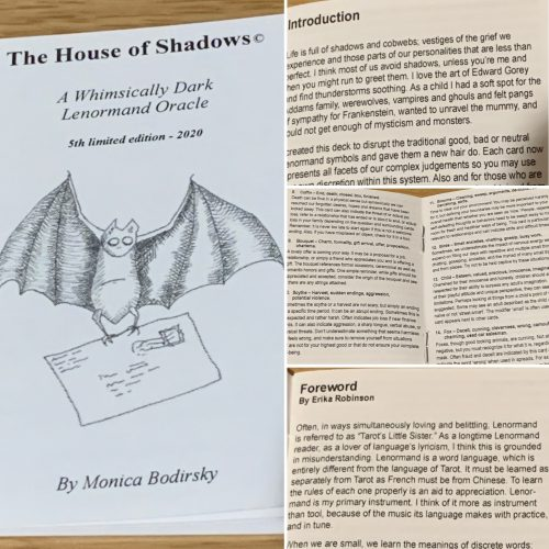 Marvelling At Monica Bodirksky's House of Shadows Lenormand Deck