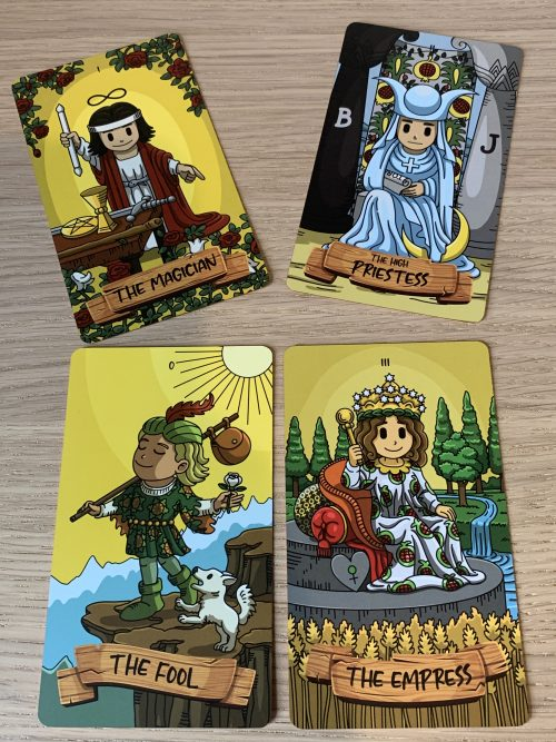Shuffling Through The SmithTiny Tarot & The SmithTiny Classic Tales Collection