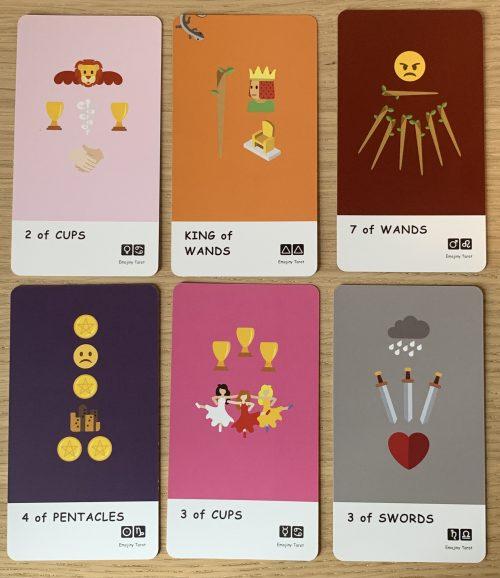 Enjoying The Emojiny Tarot