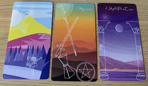 Loving The Linescape Tarot