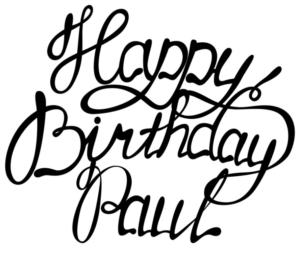 Happy 38th Birthday Paul