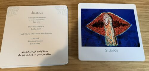 Reading Receiving Messages With Rumi's Gift Oracle Cards