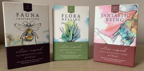 Fauna Inspiration, Flora Healing & Fantastic Being Oracle Decks For Self-Inquiry & Reflection