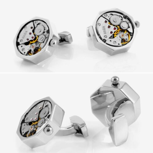 Great Gift Ideas For Guys From Trendhim : Mechanical Movement Cufflinks