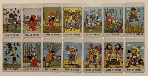Marvelling at the Mystical Medleys Tarot