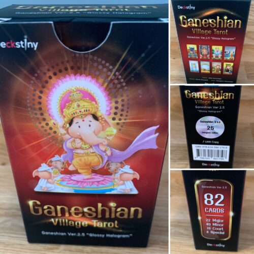 Gazing At The New Glossy Ganeshian Village Tarot Ver 2.5
