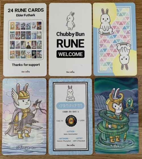 Finding Fortunes With The Chubby Bun Tarot & Rune Deck (Version 2)